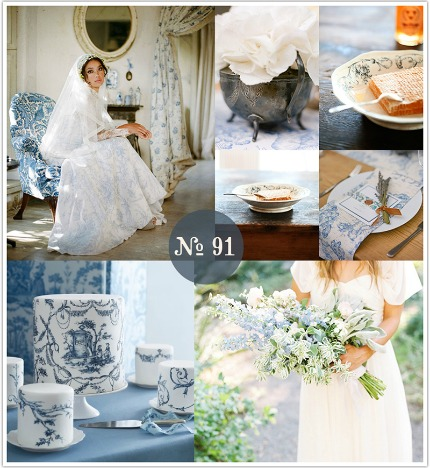 blue toile via limn and lovely