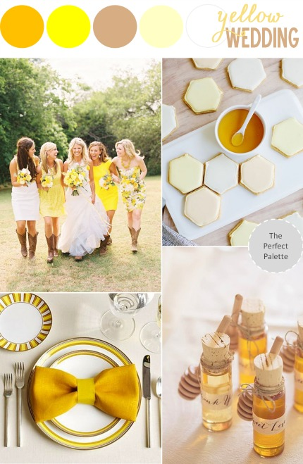 The Perfect Palette Yellow Wedding Inspiration