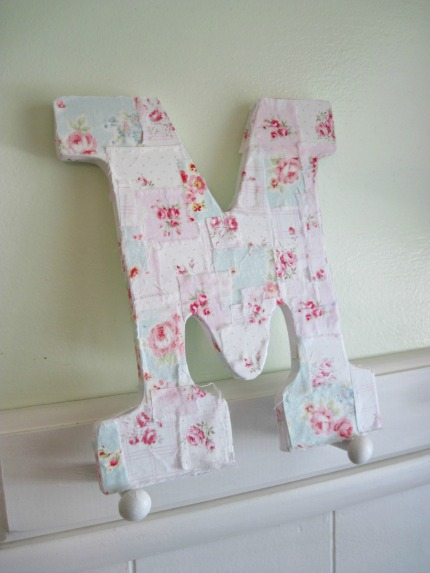 Love Letter Tutorial Finished by Elyse Major via weddings.craftgossip.com