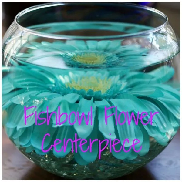 Budget friendly fishbowl flower centerpiece diy weddings