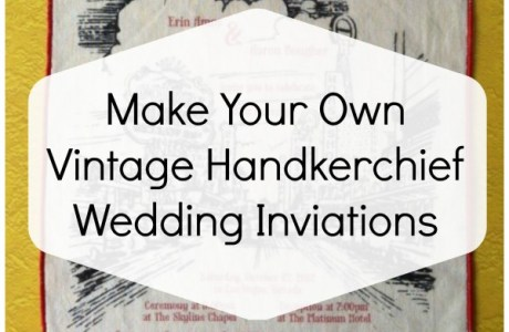 50 hot yard sale flea market finds for weddings diy for Handmade wedding invitations for sale
