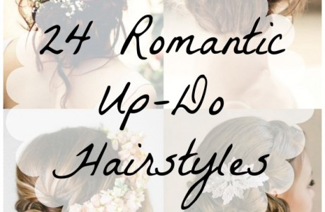 24 Up-Do Hairstyles That Are Perfectly Romantic