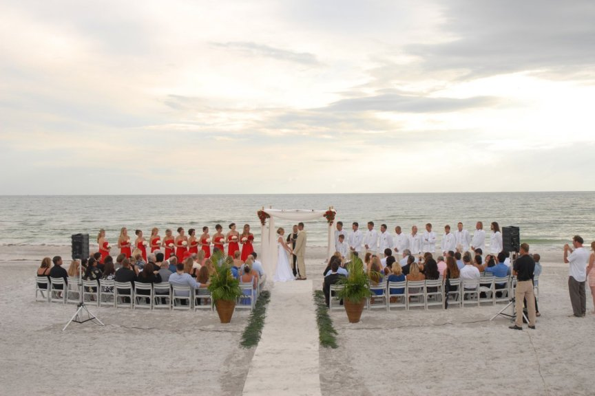 Longboat Key Beach Club Weddings