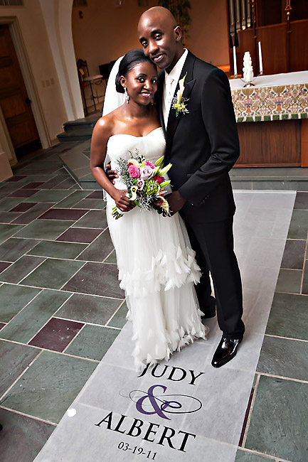 African Bride and Groom getting married in Atlanta, GA