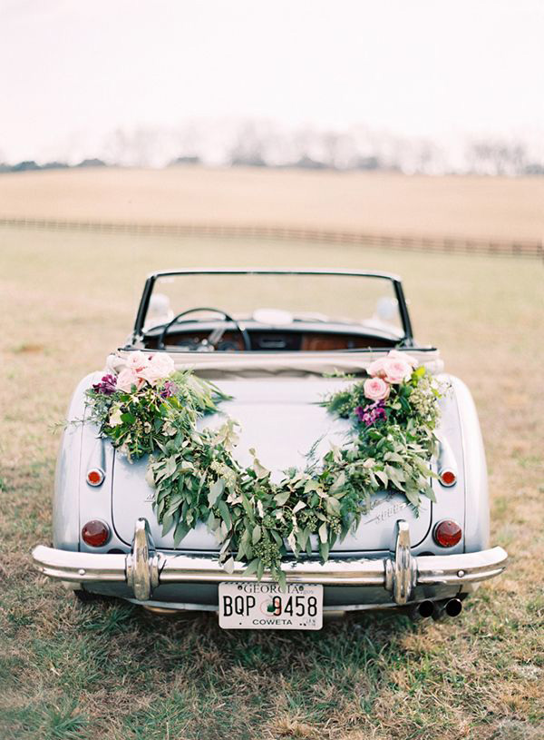 Blumengirlanden Bilder 18 Fun Just Married Wedding Car Ideas | Weddingsonline