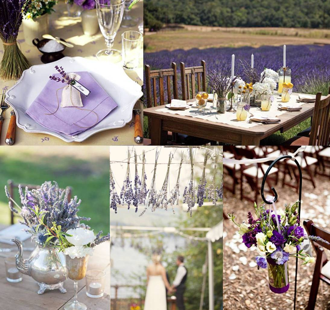 Provence Decoration Mood Board Lavender Wedding Decoration Weddings On The French