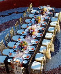 Beach Wedding Table Set Up Archives - Weddings Romantique