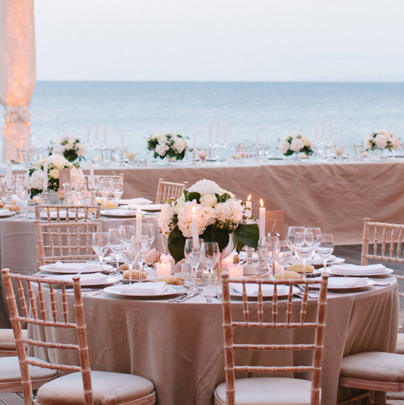 Reception Table Settings Archives - Weddings Romantique - wedding reception setup with rectangular tables