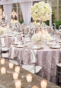 Wedding Reception Table Settings - Weddings Romantique