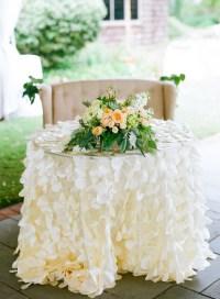 Wedding Sweetheart Table Ideas Archives - Weddings Romantique