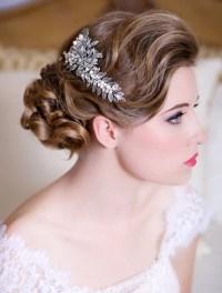 Glam Bridal Hair Accessories - Weddings Romantique