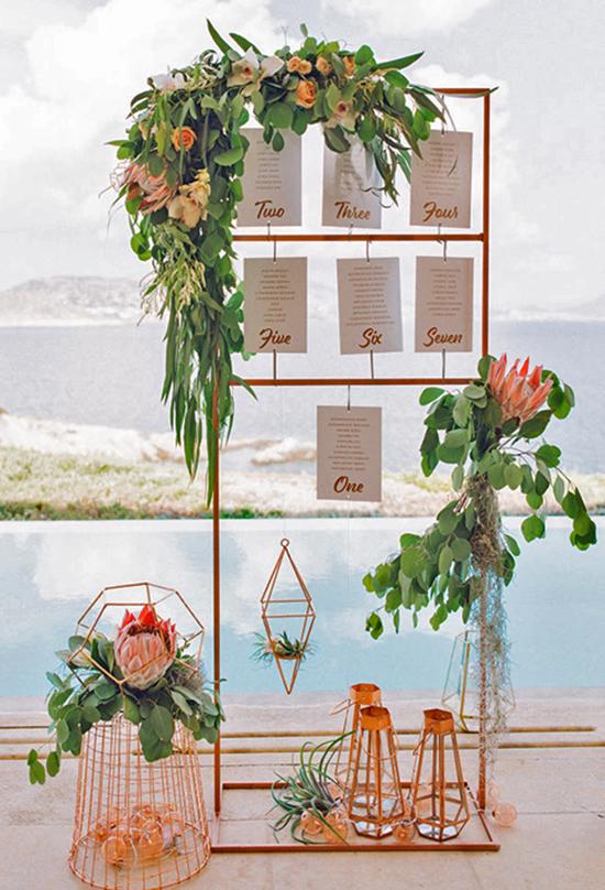 Elegant Wedding Seating Chart Ideas - Weddings Romantique