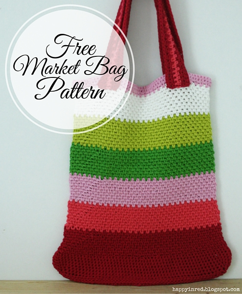 Rainbow Knitting Design 23 Market Bag Patterns To Crochet Knit Or Sew Wee Folk Art