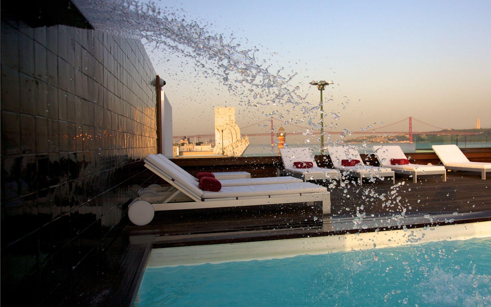 top 10 des hotels avec piscine lisbonne. Black Bedroom Furniture Sets. Home Design Ideas