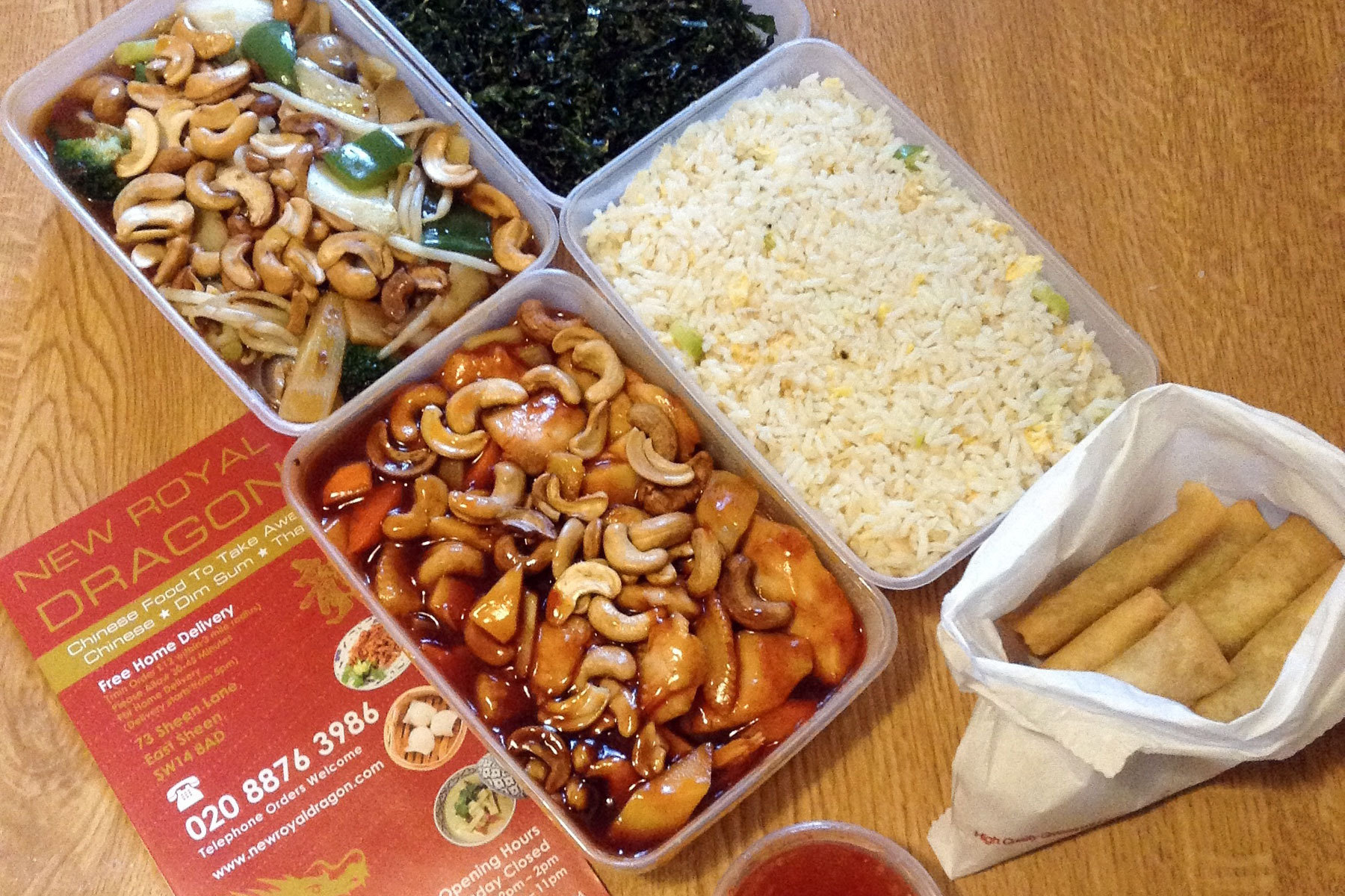 Chinese Takeaway New Royal Dragon Chinese Takeaway London