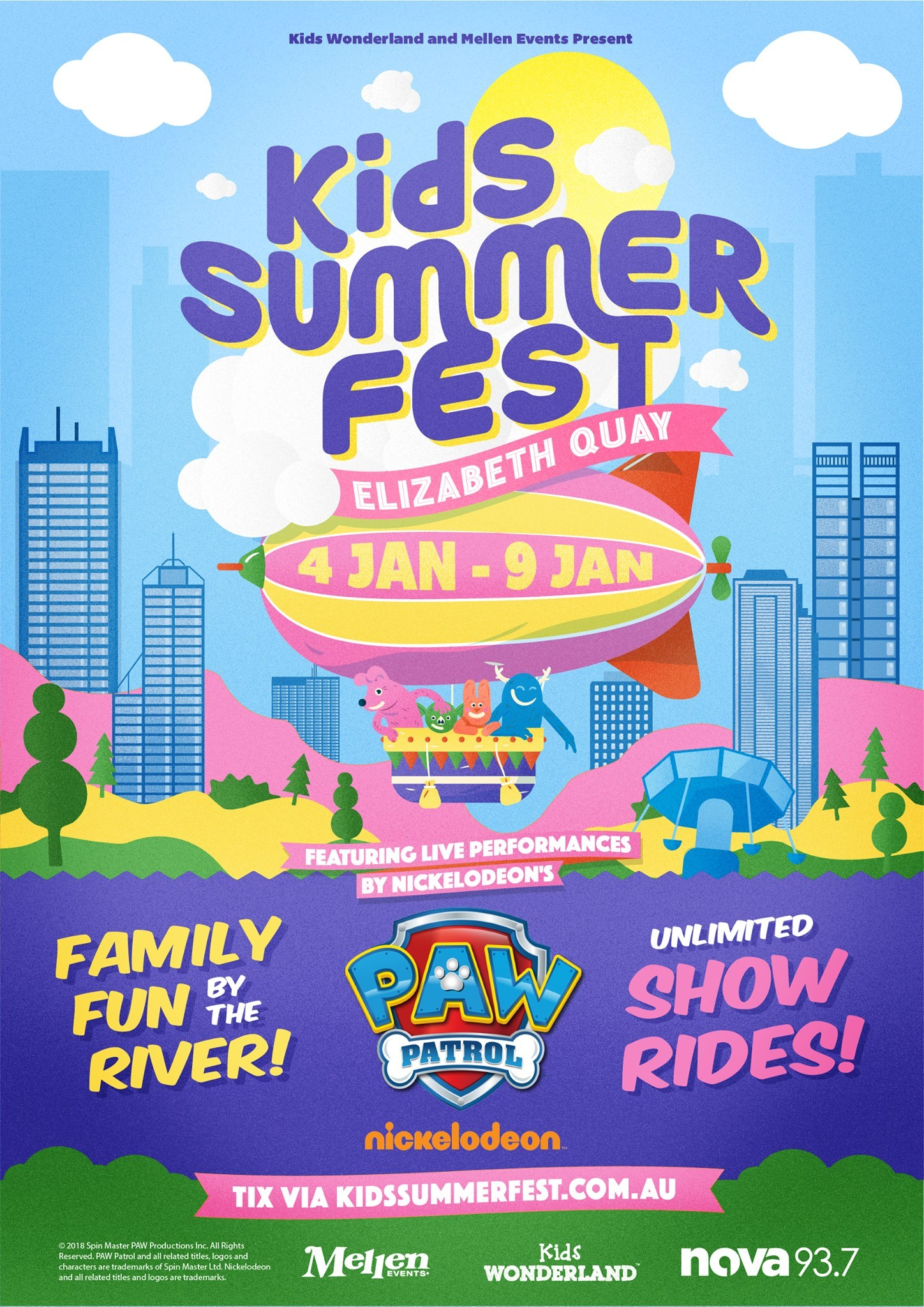 Whats On Perth Kids Kids Summer Fest 2019 Perth