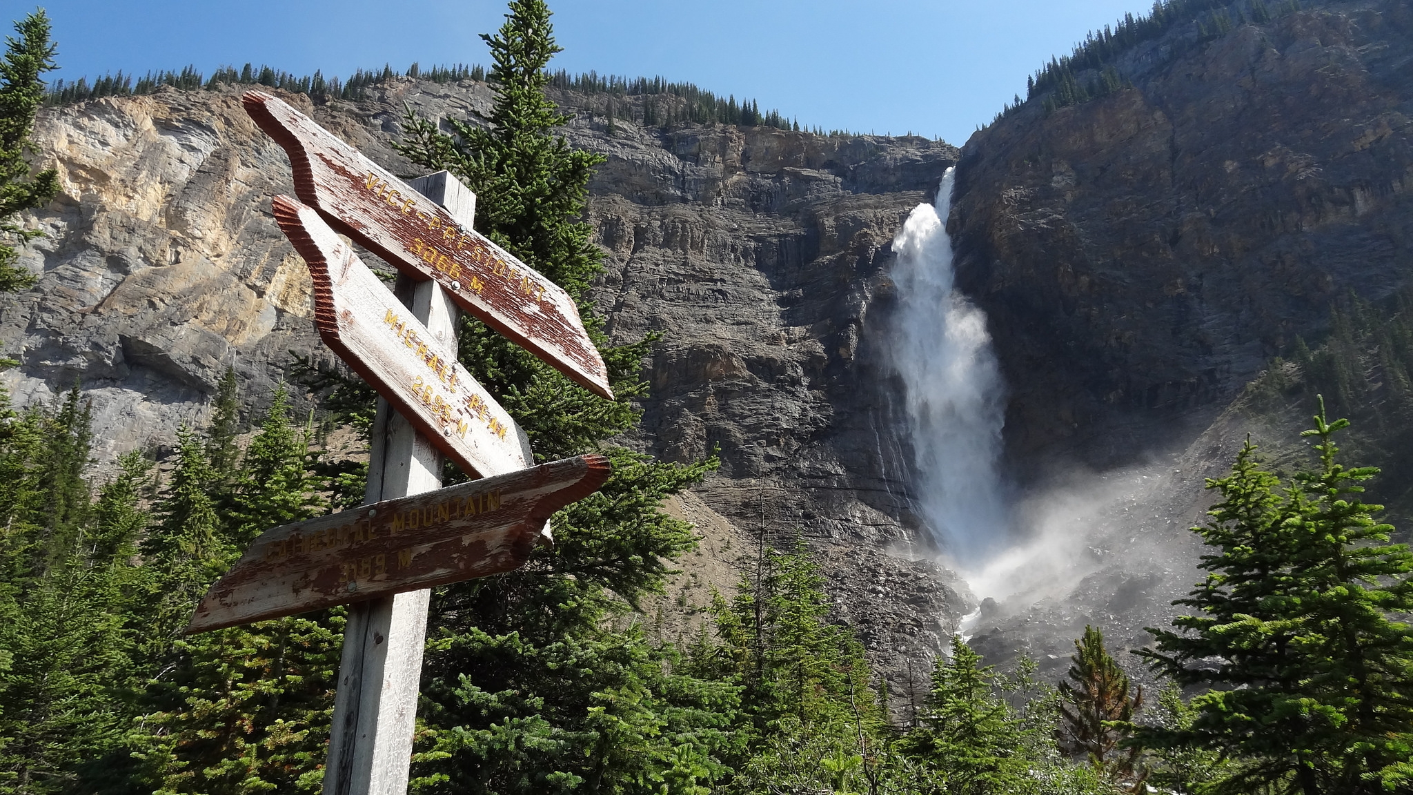 Fall Waterfall Wallpaper How To Tackle The Canadian Rockies In Four Days The