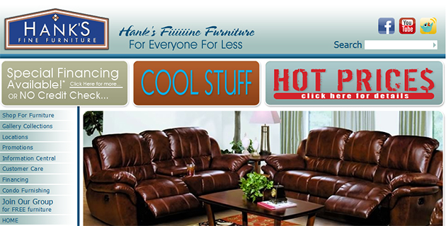 Hank 39 S Fine Furniture Store Weekly Ads Online