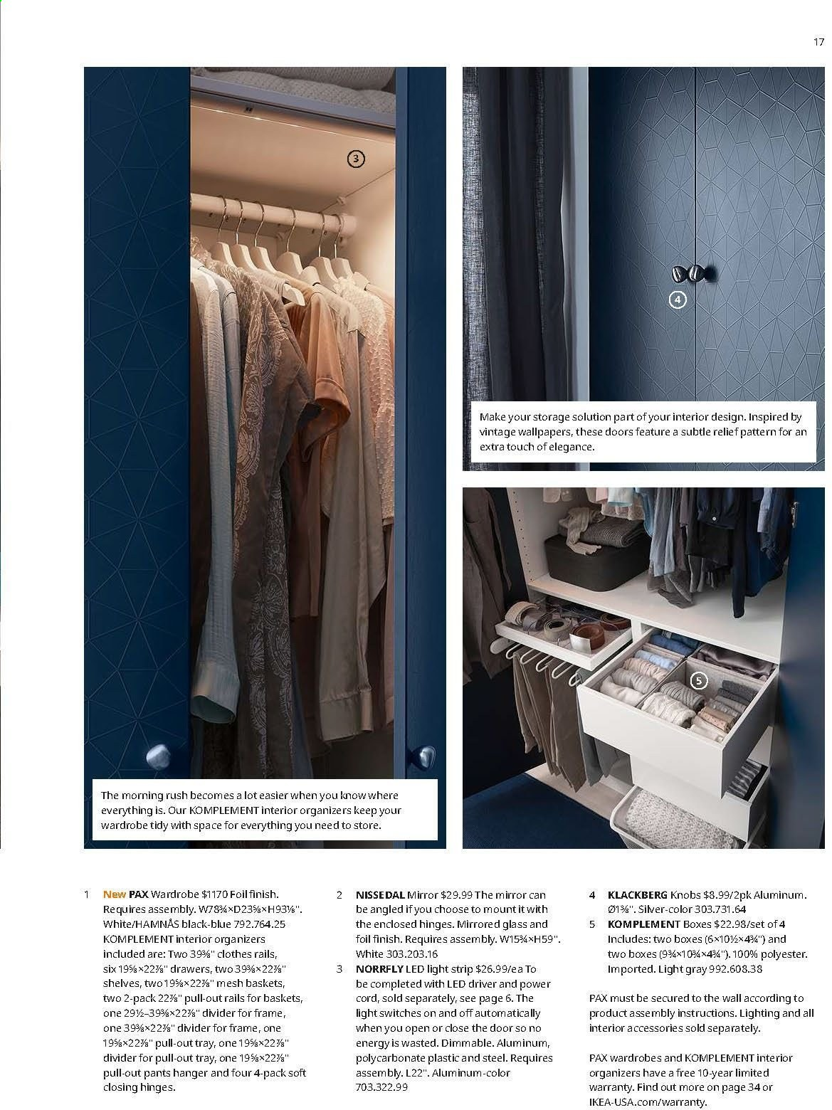 Ikea Flyer 08 01 2019 07 31 2020 Weekly Ads - Ikea Wardrobe Ksa