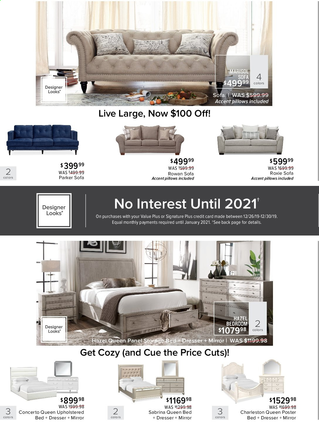 Value City Furniture Flyer 12 26 2019 12 30 2019 Page 2 Weekly Ads