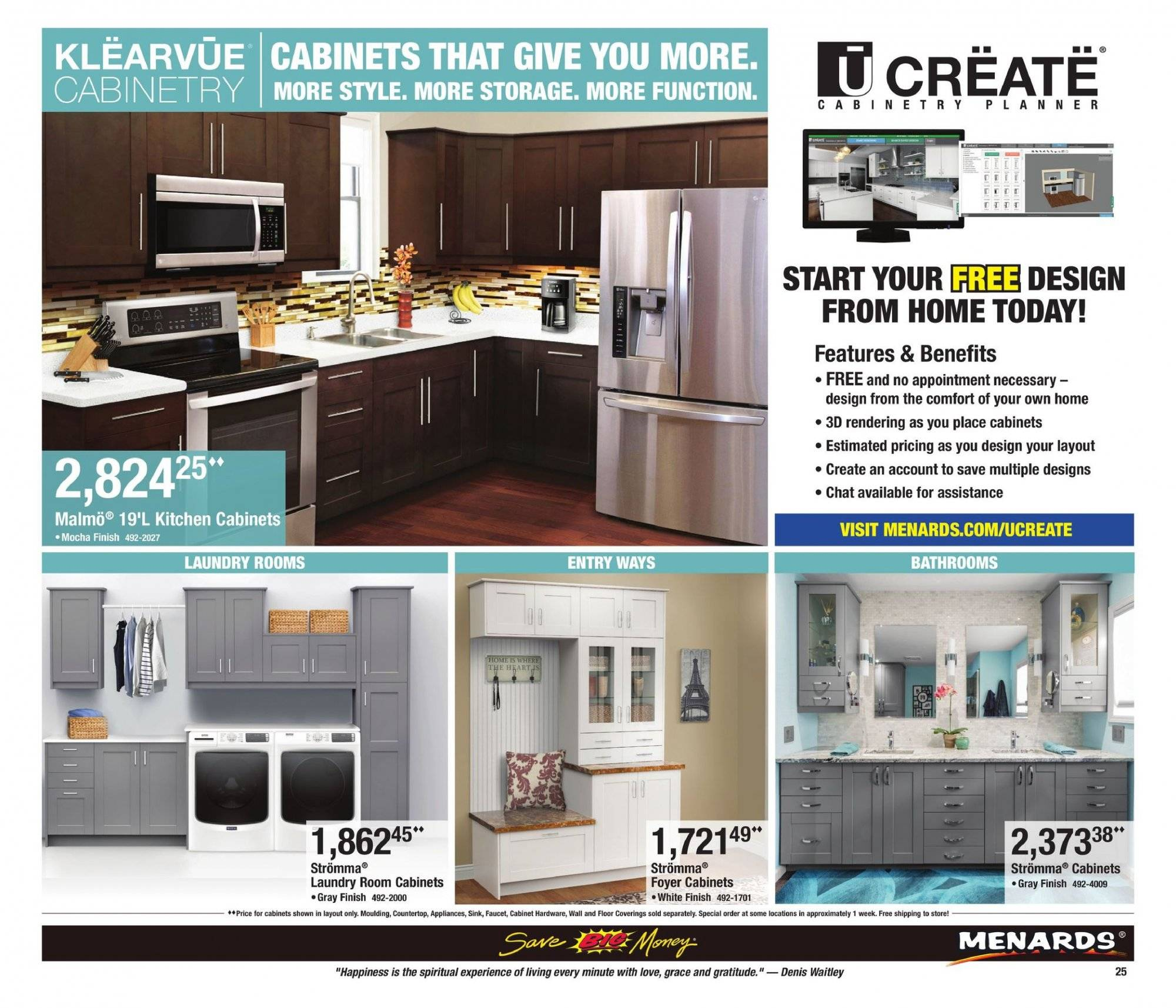 Menards Flyer 03 24 2019 04 06 2019 Page 25 Weekly Ads