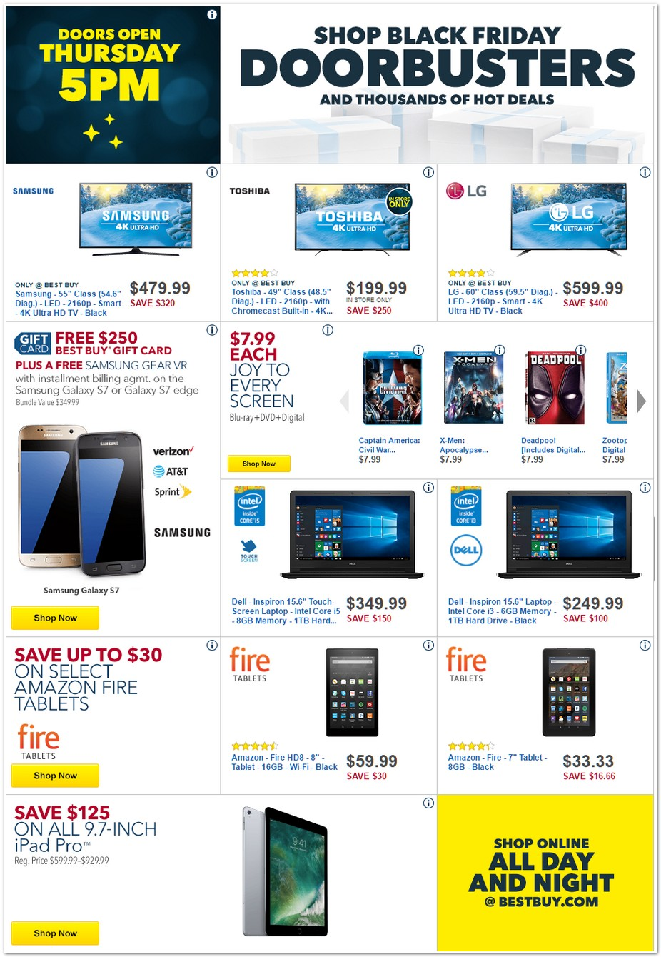 Www Black Friday Bestbuy Black Friday Ad 2016