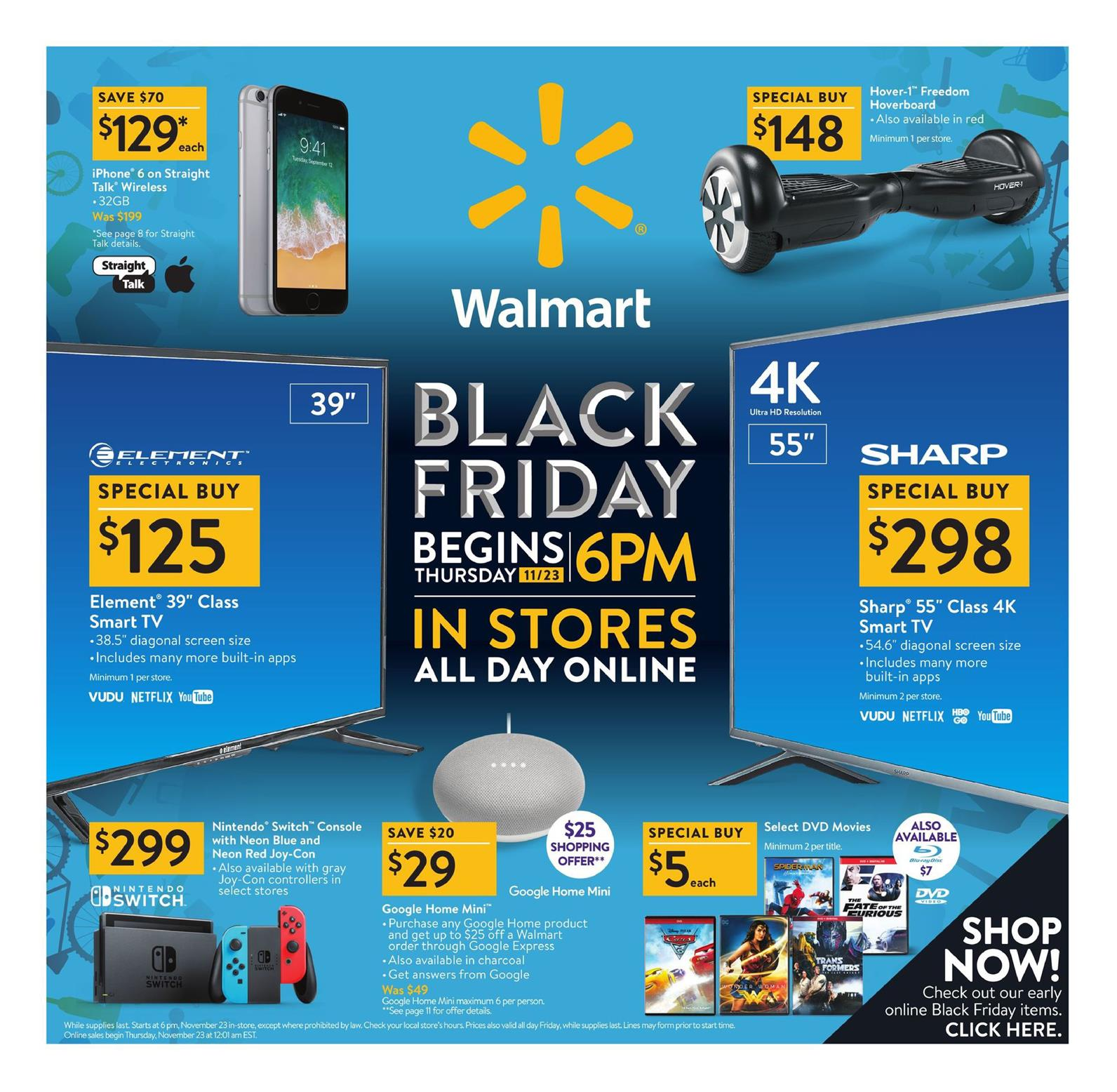 Www Black Friday Walmart Black Friday Ad 2017