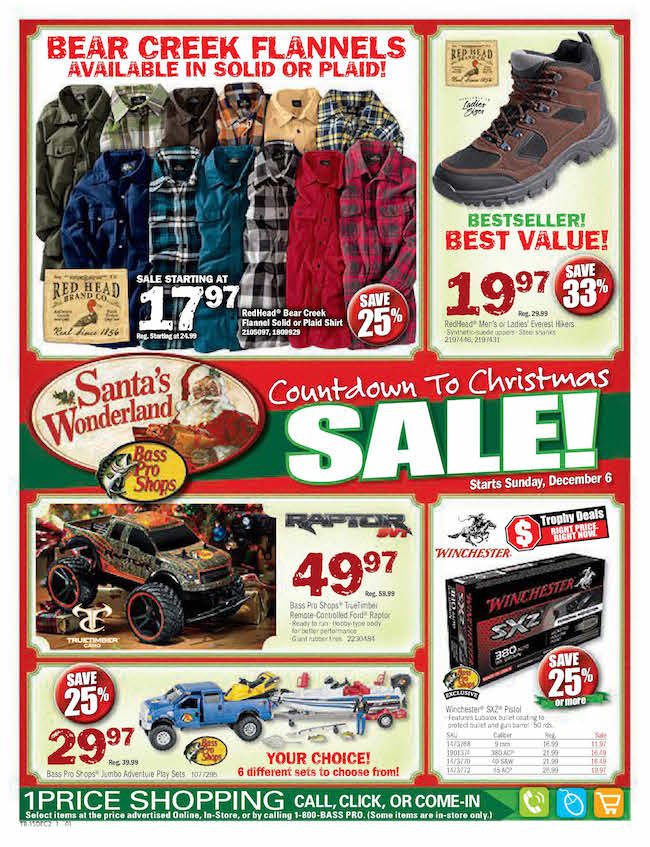 Bass Pro Ad Sales Deals Weekly Ads