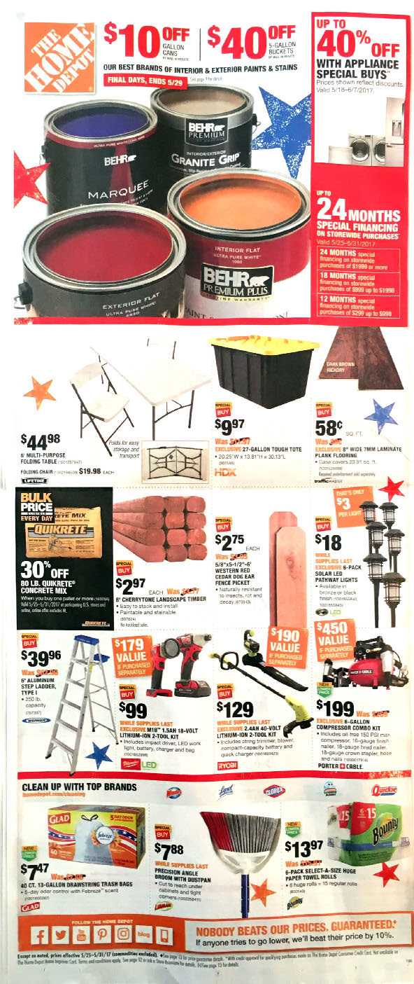 Babies R Us Sale Home Depot Weekly Ad Weekly Ads