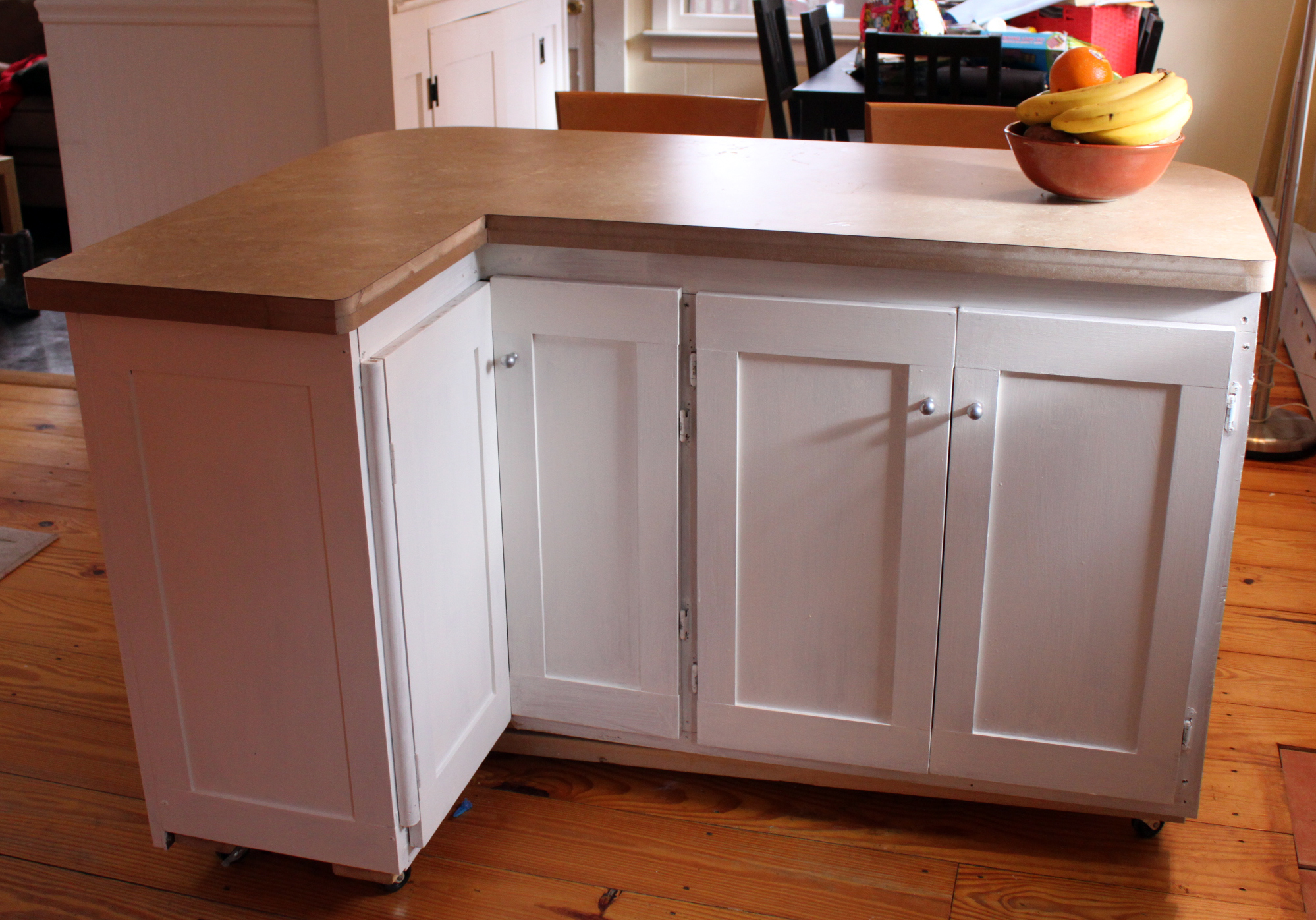 Kitchen Cabinets Made Into Island Weeknd Project Low Budget Kitchen Renovation Welcome To