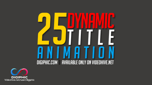 73 After Effects Titles Templates Weelii - animation title