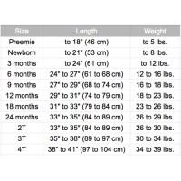 little me infant size chart little me size chart