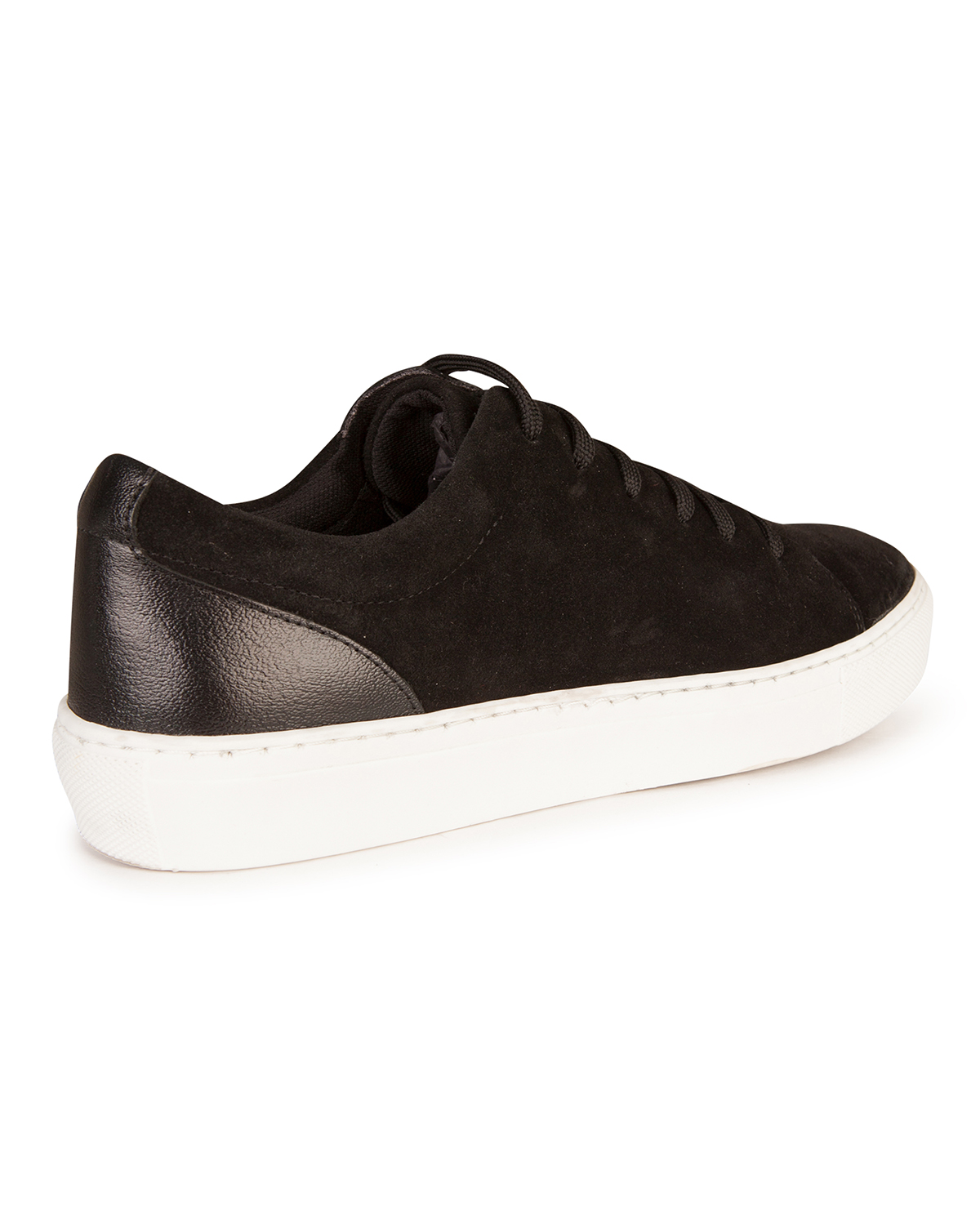 Zwarte Nikes Dames Dames Suede Sneakers 80243625 We Fashion