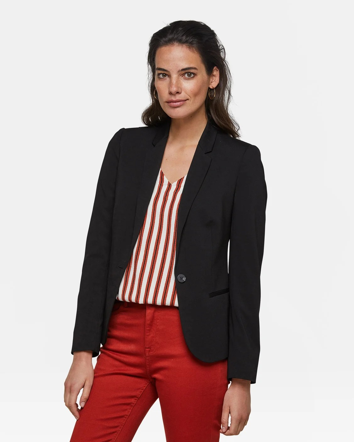 Blazer Für Damen Schwarz Damen Slim Fit Blazer 78992245 We Fashion