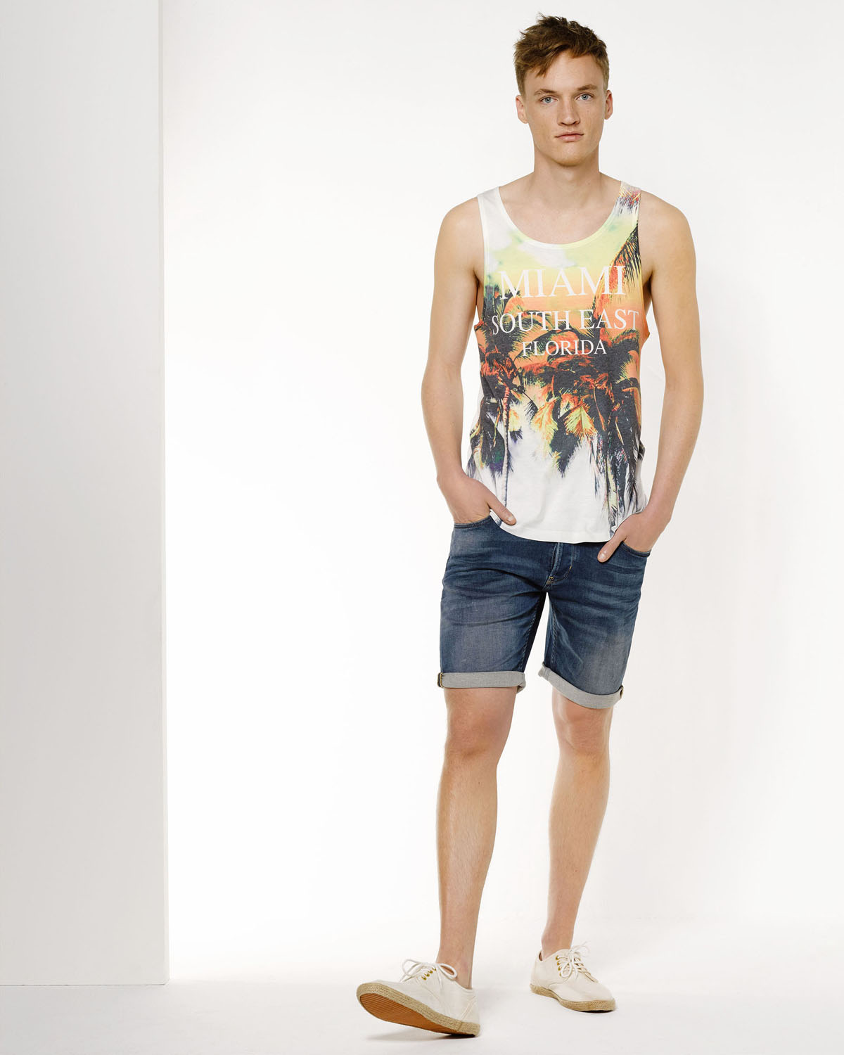 Singlet Heren Heren Singlet Met Print | 78660335 - We Fashion