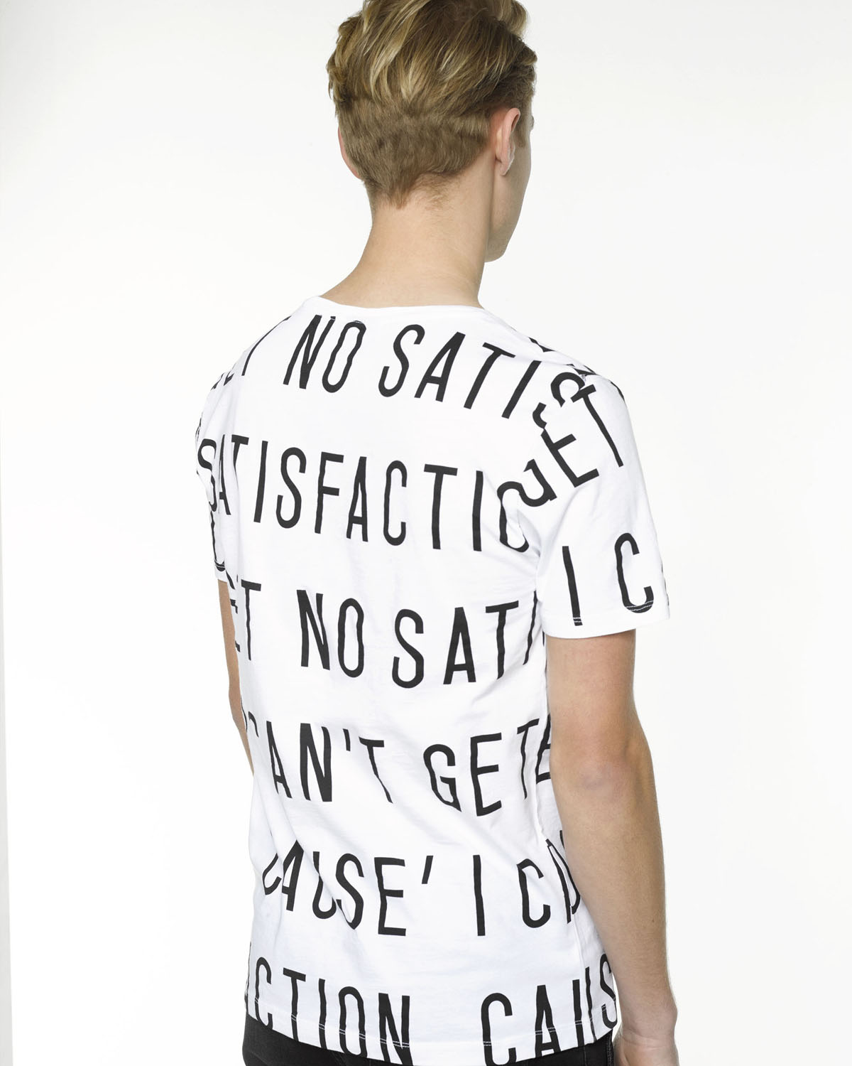 T Shirt Met Tekst Heren T Shirt Met Tekst 78857643 We Fashion