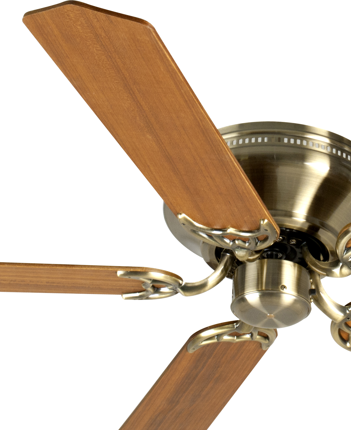 Custom Paddle Fans Craftmade Ceiling Fan In Antique Brass With 52 Quot Custom