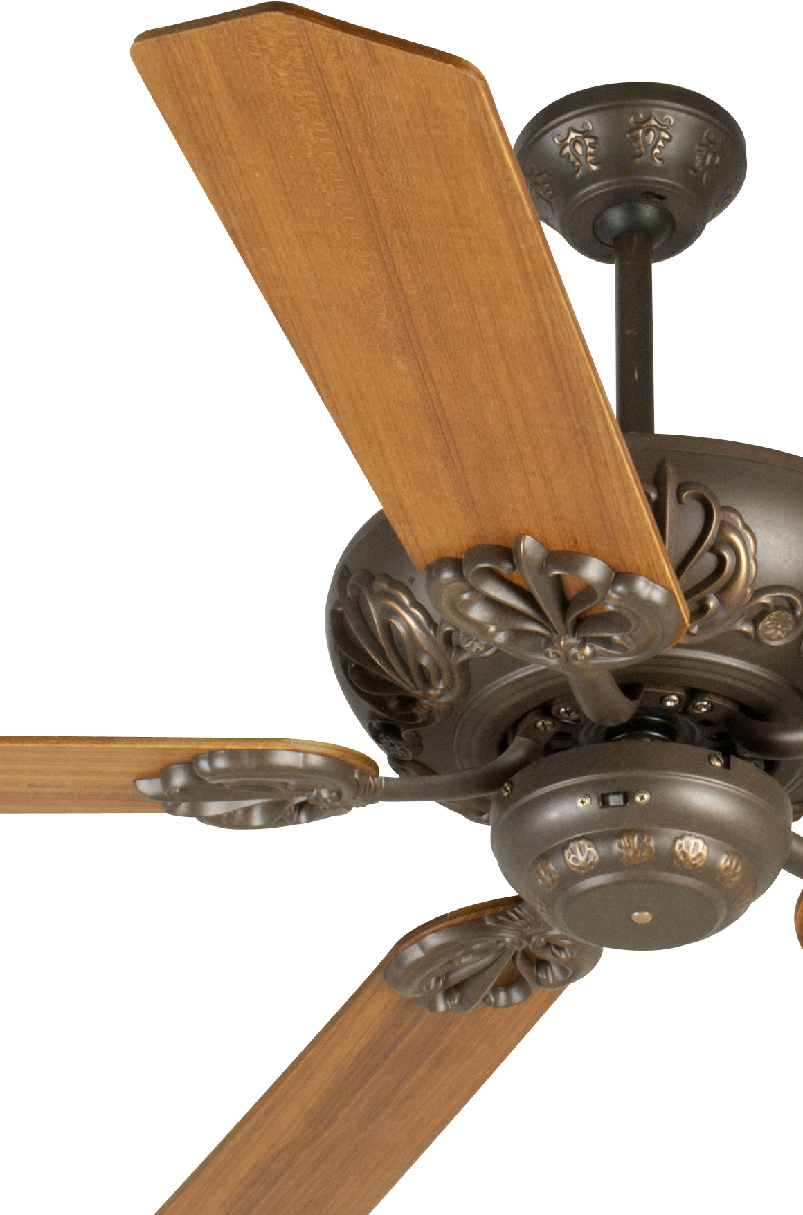 Custom Paddle Fans Craftmade Cordova Ceiling Fan With Five 52 Quot Custom Wood