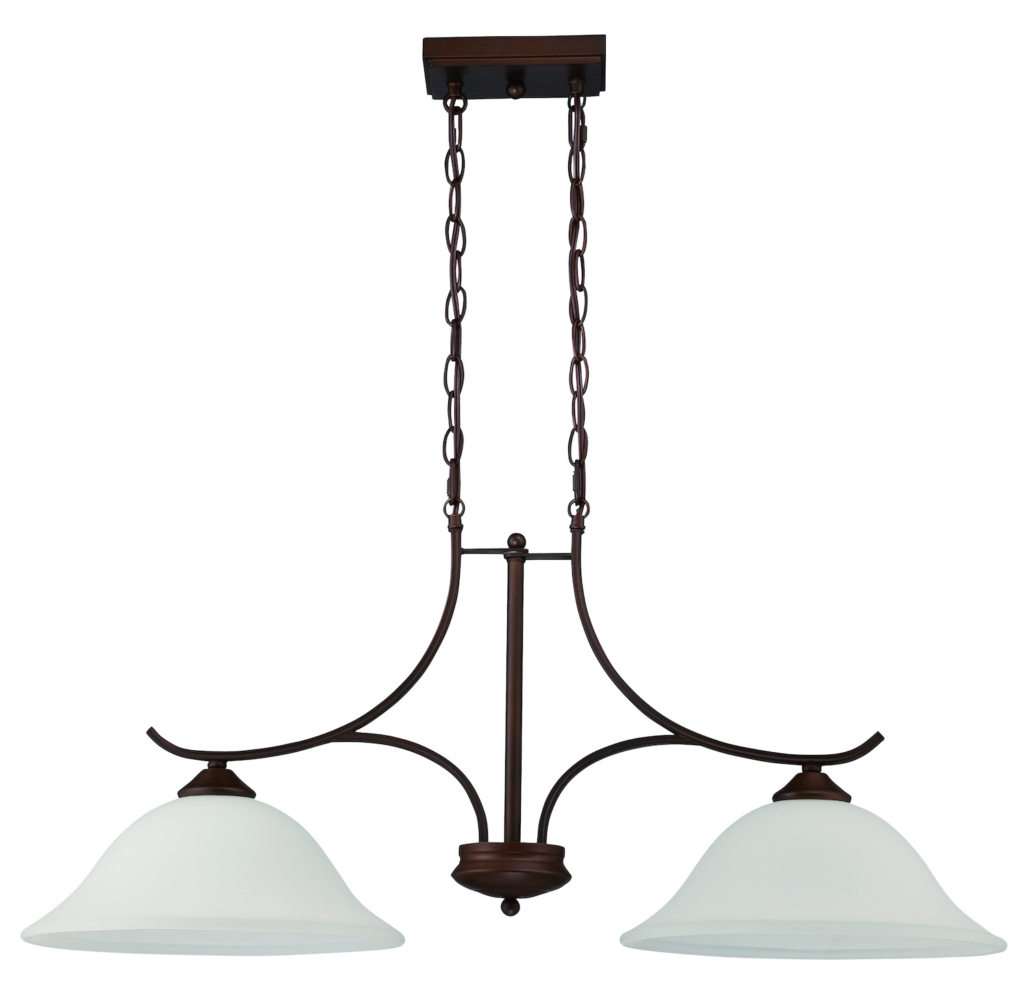 Pendant Island Lights Craftmade 2 Light Island Pendant In Oiled Bronze Finish