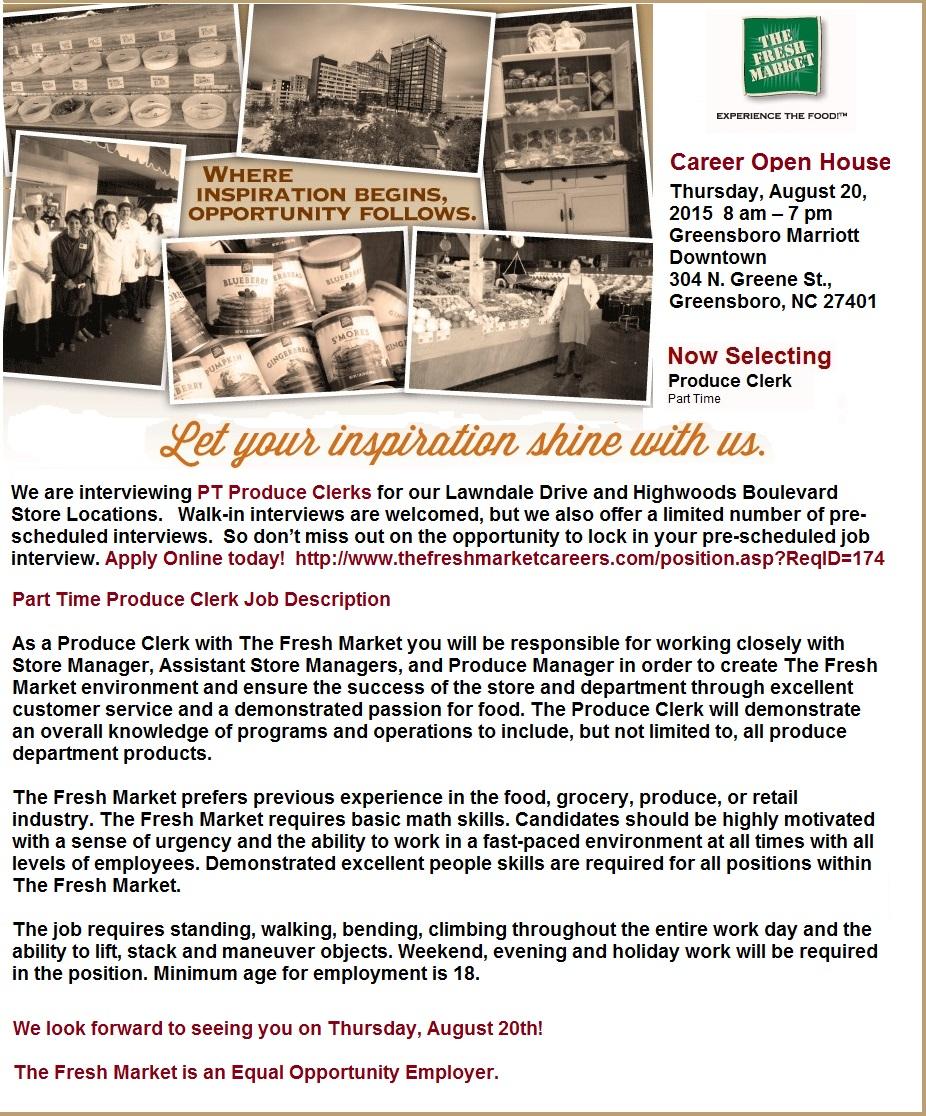 produce clerk resume resume maker create professional resumes produce clerk resume internships internship search and intern jobs produce clerk jobs in greensboro nc yes