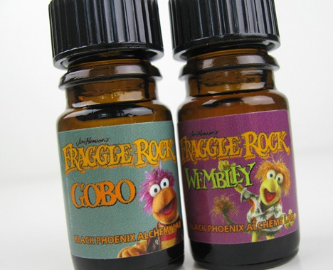 BPAL Fraggle Rock 4 BPAL Fraggle Rock Collection Review