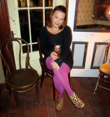 NuanceParty8 Nuance Salma Hayek for CVS   Beauty Blogger Party