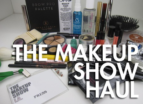 MakeupShow1 The Makeup Show Los Angeles Haul, part 1