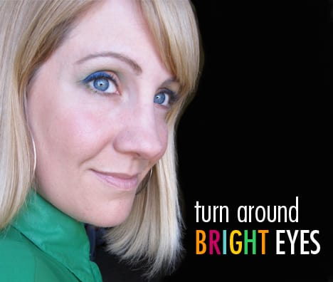 TargetBright1B A Little or A Lot   How To Wear Bright Eye Makeup