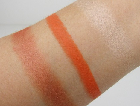 MAC Hayley Williams swatches