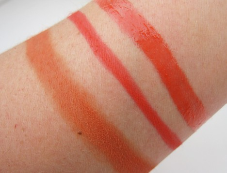 MAC Fashion Sets Ablaze swatches
