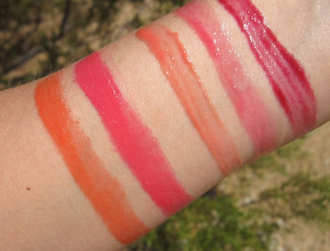 MAC So Supreme swatches