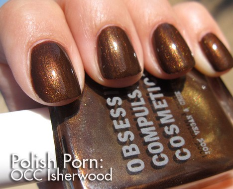 OCC Isherwood nail lacquer swatch
