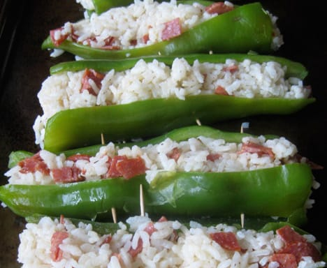 Stuffed Anaheim Chiles recipe