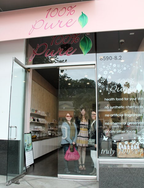 100 Percent Pure Store 4 100% Pure in West Hollywood: we heart this Field Trip
